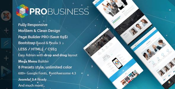 Pro Business -Best Joomla Templates