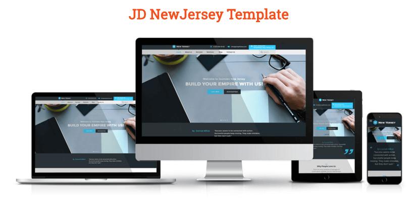 JD New Jersey Joomla Templates Responsive