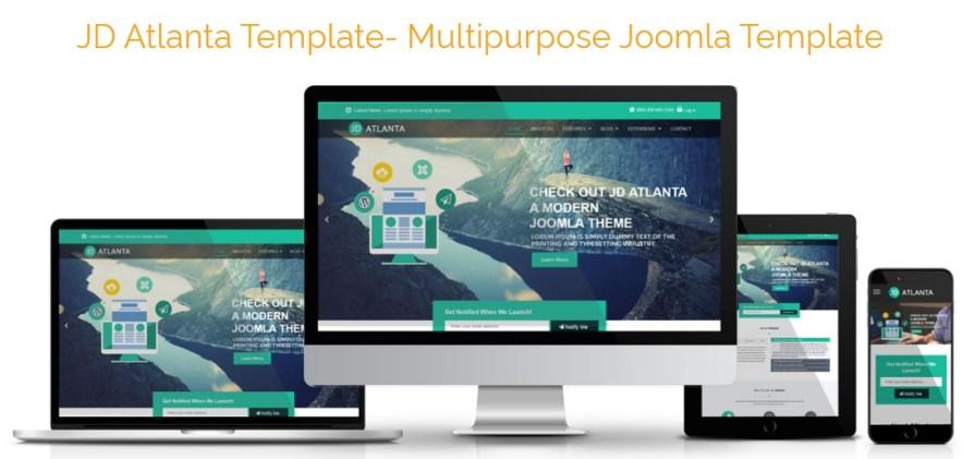JD Atlanta Joomla Template