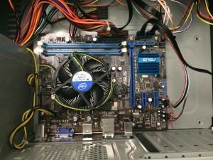 Instalação do processador Intel Celeron e Cooler