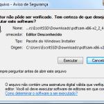 PDF Split - Instalação