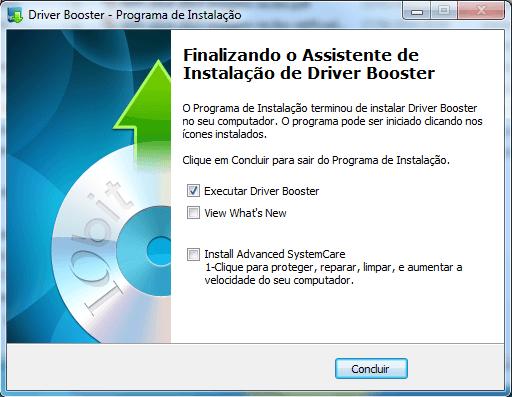 Driver Booster 05 - Instalação