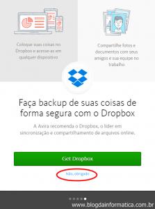 Novos Recursos - Avira - Dropbox