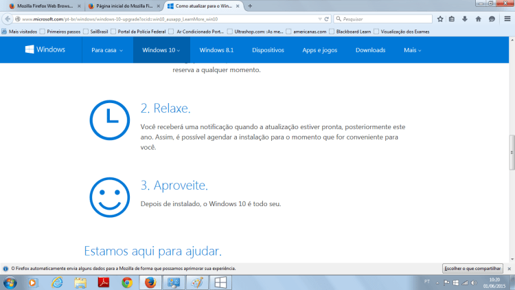 Baixe o Windows 10