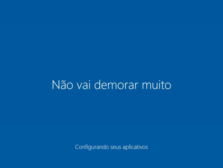 Windows 10 - Não demorou quase nada