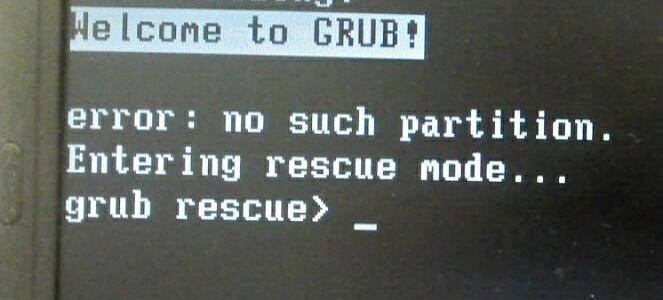 Grub - Reinstalando, corrigindo ou atualizando