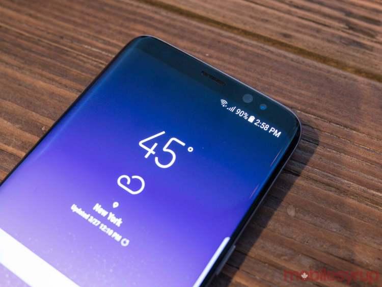 Samsung Galazy S8 - Tela curva