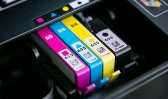 Cartucho da impressora HP bloqueado