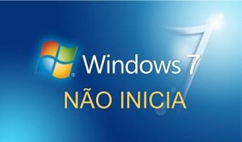 Windows 7 não inicia