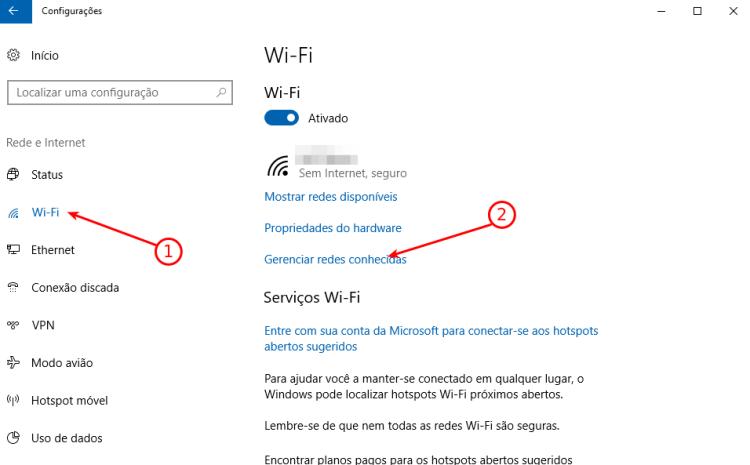 Windows 10 - Wifi