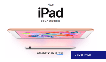 Novo iPad - Destaque