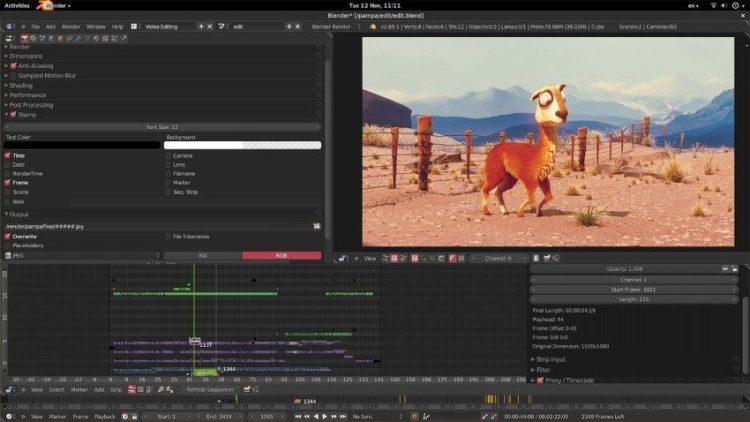 Blender - Editor de vídeo e modelagem 3D