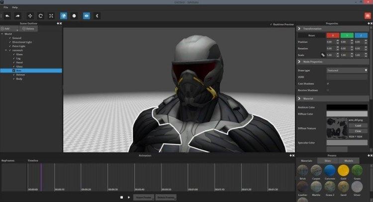 Jahshaka - Editor de vídeo voltado a efeitos