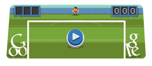 Jogos do Google - Futebol 2012