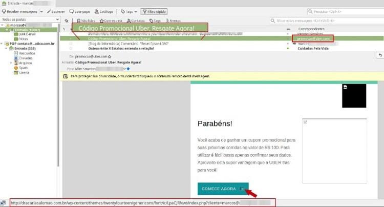 E-mail falso - como identificar