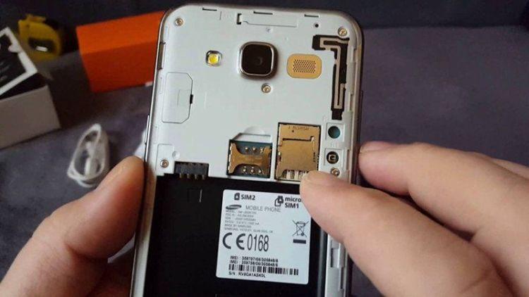 Remover Cartão SD - Galaxy J5