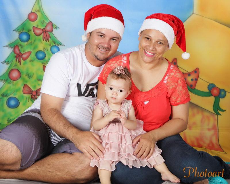 Natal em família no estúdio Photoart