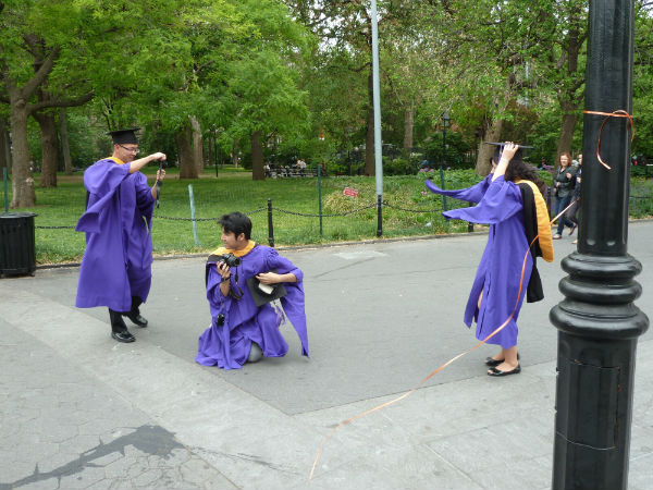 Foto: Graduation / NYU - by Andrea Tissenbaum