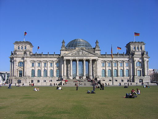 Reichstag | Foto by Norbert Aepli via Wikimedia Commons