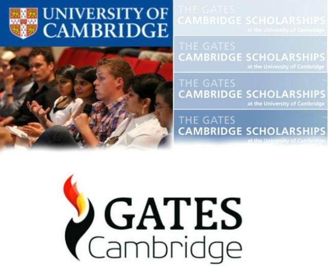 Gates Cambridge Scholarship | Divulgação