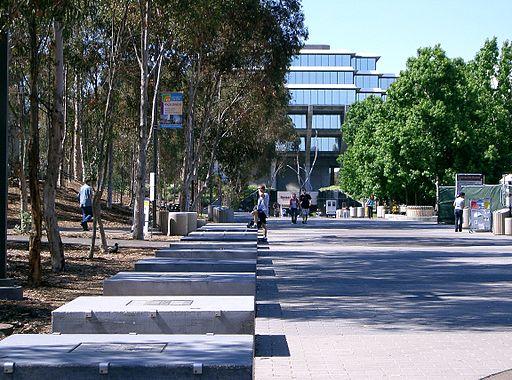Sul da Califórnia | UCSD library walk | Foto: Foto: Znode, via Wikimedia Commons