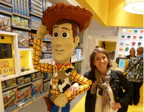 Woody e eu em Berlim   Foto: Vladimir Sacchetta