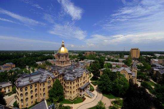 palestra - Universidade de Notre Dame - Foto: Divulgação