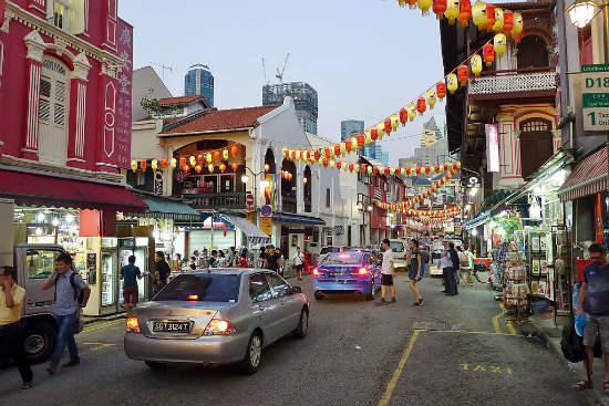 Temple Street, Chinatown | Foto: Bahnfrend via Wikimedia Commons