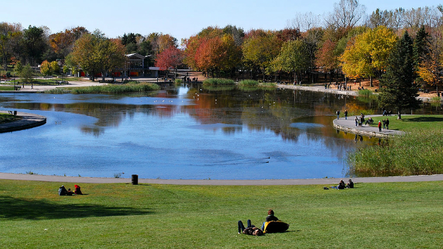 Lac aux Castors, Parc Mont Royal | Foto: JustLiza via Wikimedia Commons