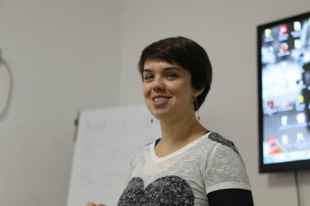 Adriana Vichi, a professora | Foto: Andrea Tissenbaum