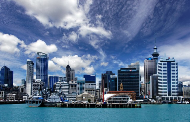 Porto de Auckland | Foto: Kevin Philips vi public domain pictures