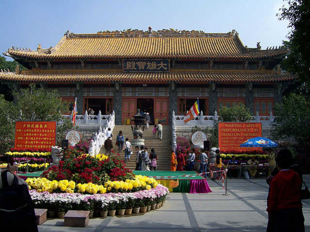 Monastério Po Lin | Foto: Enochla, via Wikimedia Commons
