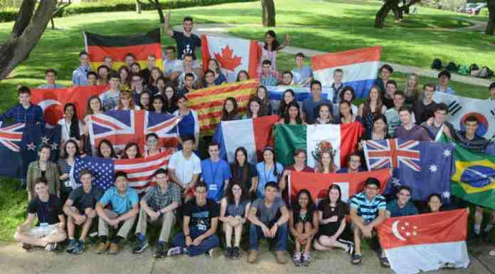Jovens cientistas internacionais no Instituto Weizmann | Crédito: Divulgação