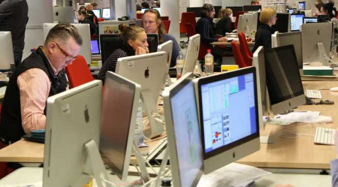 Jornalistas na Alemanha | Foto: Thomas Schmidt, via Wikimedia Commons