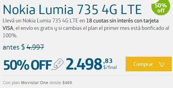 Promoción de Smartphones 50 Off en Movistar para Navidad 1