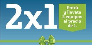 Promo Celulares 2x1 Día De La Madre 2018 en Claro, Movistar, Personal 1