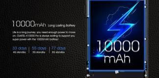 El celular con la batería mas grande del mundo (10000 mAh). El Oukitel K10000 5