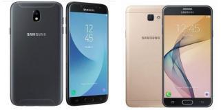 ¿Cual es mejor? El Samsung Galaxy J7 2017 o el J7 Prime