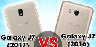 Diferencias entre el Samsung J7 2016 y J7 2017 1