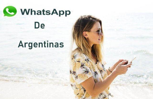 Números de Whatsapp de Chicas Argentinas