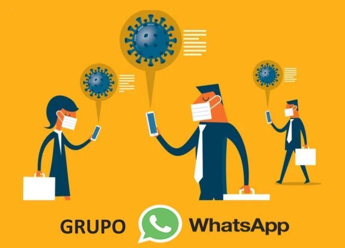 grupo de whatsapp sobre el coronavirus
