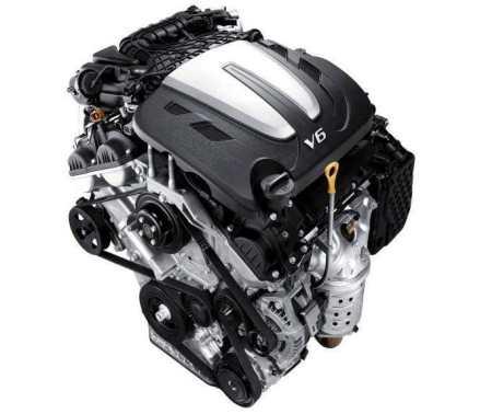 Hyundai Grand Santa Fe V6 (2018) Precio, Equipamiento, Fotos, Motor 5