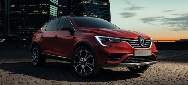 Renault Arkana es revelado antes del Salón de Moscú 2