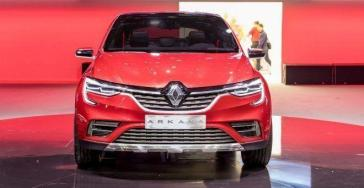 Renault Arkana es revelado antes del Salón de Moscú 5