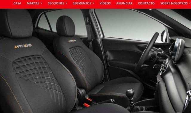 Interior Fiat Argo Trekking 2020