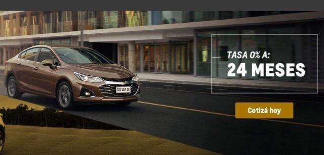 Chevrolet Cruze Tasa 0% en Mercadolibre (Compra 100% Online)