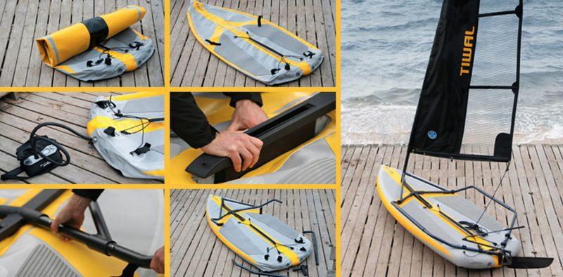 Tiwal le bateau gonflable  Blog Dco Design