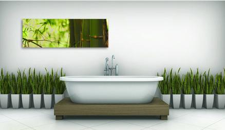 Tableau et papier peint quel style pour ma salle de bain