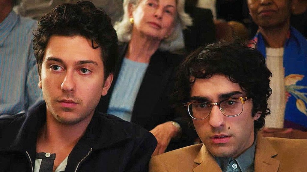 Nat Wolff family: a brother Alex Wolff, a mother, a father