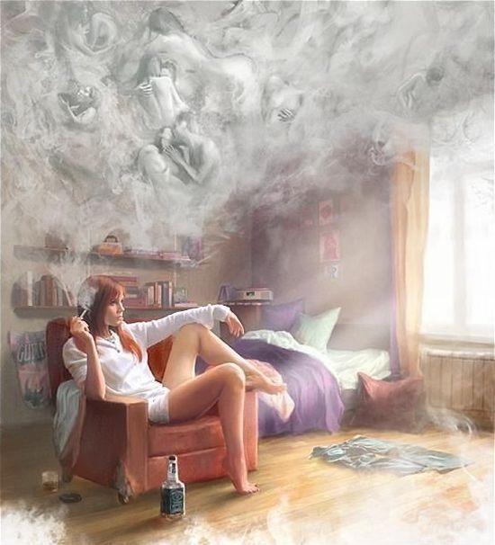 El humo del tabaco es malo